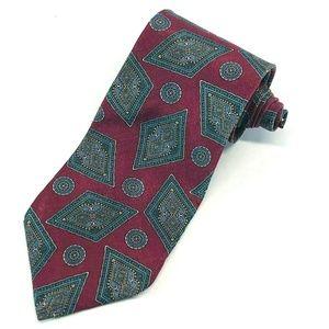 Stafford USA Mens 100% Silk Necktie Tie